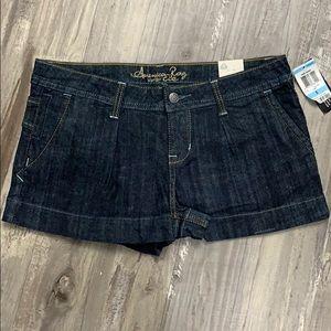 American rag jean shorts dark wash size 5